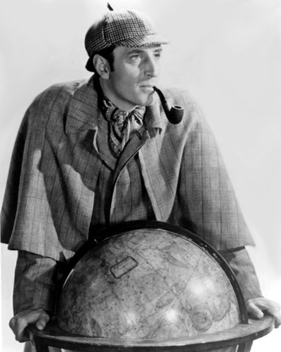 This is an image of Photograph & Poster of Basil Rathbone 103126