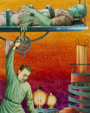 This is an image of Prints & Posters of Frankenstein 298725