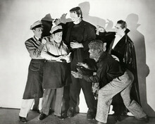 This is an image of Prints & Posters of Abbott and Costello Meet Frankenstein 103247
