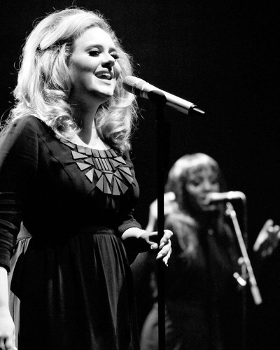 This is an image of Prints & Posters of Adele 103748