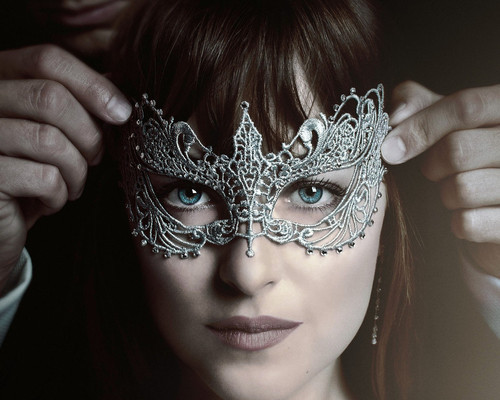 This is an image of Prints & Posters of Dakota Johnson 299852
