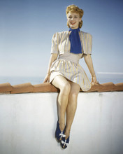 This is an image of Prints & Posters of June Haver 201075