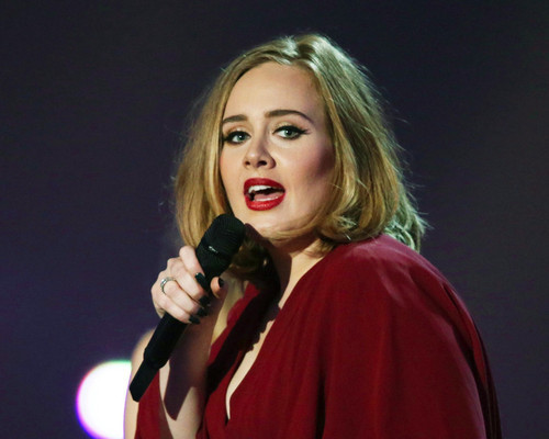 This is an image of Prints & Posters of Adele 201273