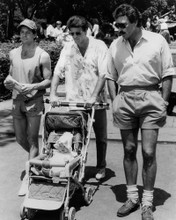 This is an image of Prints & Posters of Three Men and a Baby 104320