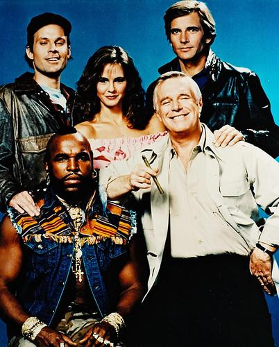 This is an image of 2379 The A-Team Photograph & Poster