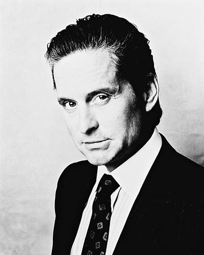 This is an image of 11835 Michael Douglas Photograph & Poster