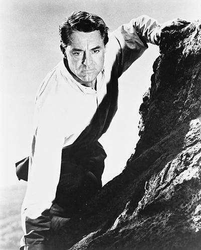 This is an image of 12418 Cary Grant Photograph & Poster