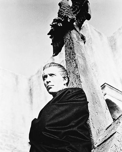 This is an image of 13270 Christopher Lee Photograph & Poster