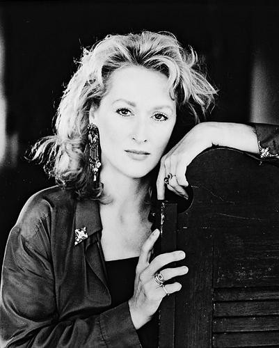This is an image of 15257 Meryl Streep Photograph & Poster