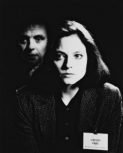 This is an image of 16366 The Silence of the Lambs Photograph & Poster