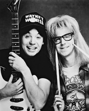 This is an image of 17289 Wayne's World Photograph & Poster