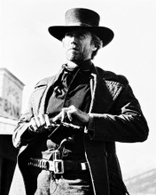 This is an image of 18042 Clint Eastwood Photograph & Poster