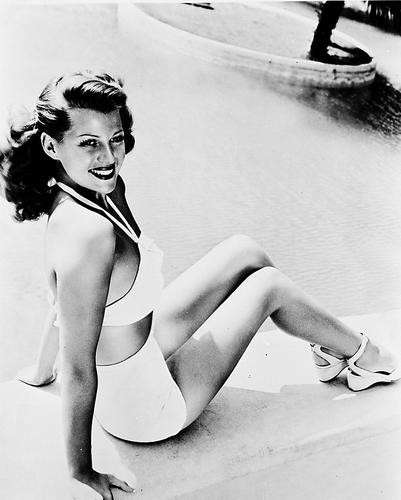 This is an image of 18314 Rita Hayworth Photograph & Poster