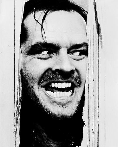 This is an image of 18527 Jack Nicholson Photograph & Poster