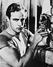This is an image of 19592 Marlon Brando Photograph & Poster