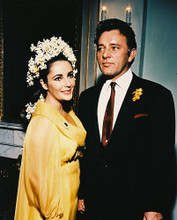 This is an image of 23272 Elizabeth Taylor & Richard Burton Photograph & Poster