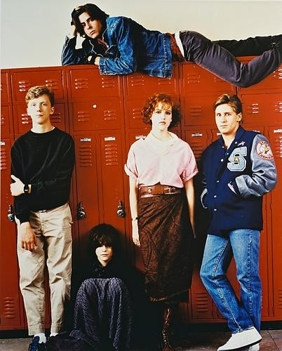 This is an image of 24544 The Breakfast Club Photograph & Poster