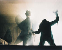 This is an image of 25305 The Exorcist Photograph & Poster