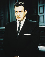 This is an image of 27383 Raymond Burr Photograph & Poster