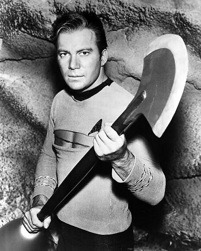 This is an image of 100120 William Shatner Photograph & Poster