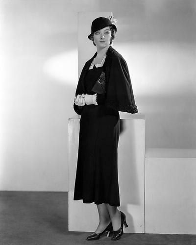 This is an image of 100303 Myrna Loy Photograph & Poster