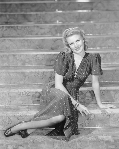 This is an image of Photograph & Poster of Ginger Rogers 101329