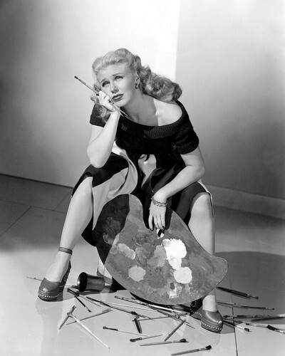 This is an image of Photograph & Poster of Ginger Rogers 101437