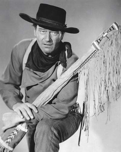 This is an image of Photograph & Poster of John Wayne 101450