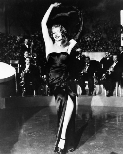 This is an image of Photograph & Poster of Rita Hayworth 102285