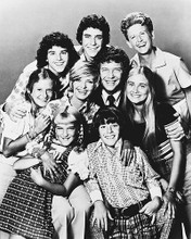 This is an image of 160181 The Brady Bunch Photograph & Poster