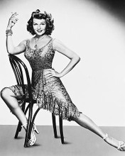 This is an image of 160410 Rita Hayworth Photograph & Poster