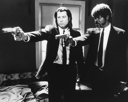 This is an image of 160607 Pulp Fiction Photograph & Poster