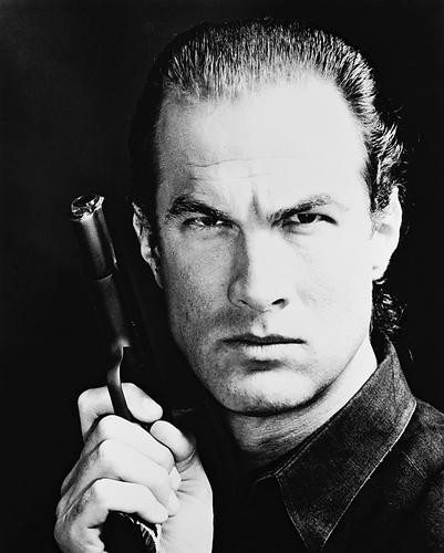 This is an image of 161112 Steven Seagal Photograph & Poster