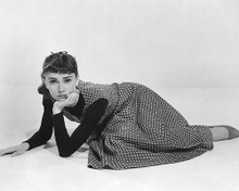 This is an image of 161223 Audrey Hepburn Photograph & Poster