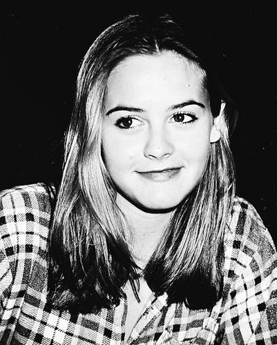 This is an image of 162503 Alicia Silverstone Photograph & Poster