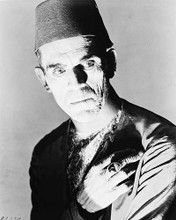 This is an image of 163403 Boris Karloff Photograph & Poster