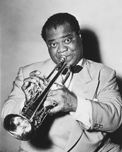 This is an image of 164858 Louis Armstrong Photograph & Poster