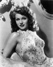 This is an image of 165418 Rita Hayworth Photograph & Poster