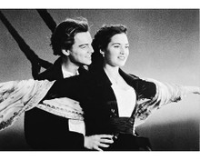This is an image of 166902 Leonardo Dicaprio & Kate Winslet Photograph & Poster