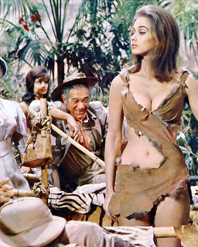 This is an image of 277069 Carry on Up the Jungle Photograph & Poster