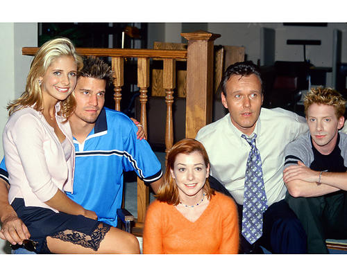 This is an image of 261399 Buffy the Vampire Slayer Photograph & Poster
