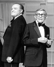 This is an image of 192804 Bob Hope and George Burns Photograph & Poster