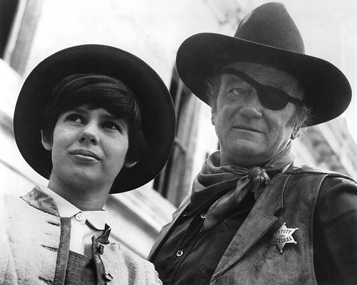 This is an image of 193549 True Grit 1969 Photograph & Poster