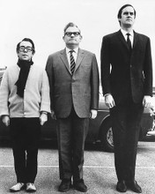 This is an image of 172222 John Cleese, Ronnie Corbett and Ronnie Barker Photograph & Poster
