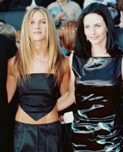 This is an image of 237458 Jennifer Aniston & Courtney Cox Photograph & Poster