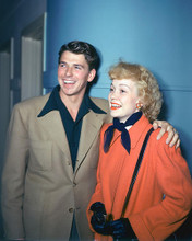 This is an image of 248652 Ronald Reagan & Jane Wyman Photograph & Poster