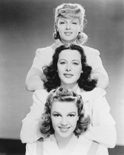 This is an image of 171775 Judy Garland,hedy Lamarr & Lana Turner Photograph & Poster