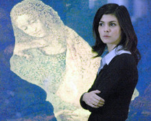 This is an image of 273939 Audrey Tautou Photograph & Poster
