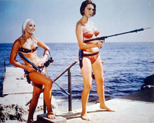 This is an image of 226237 Sylva Koscina & Elke Sommer Photograph & Poster