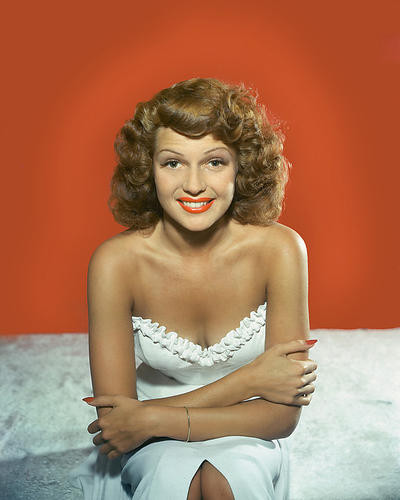 This is an image of 280939 Rita Hayworth Photograph & Poster